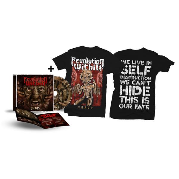 Chaos Tshirt + CD