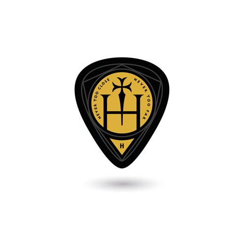 Hermitage: Guitar Pick 5