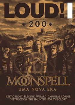 MOONSPELL - Loud! Magazine # 200