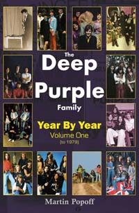 DEEP PURPLE - The Deep Purple story, year by year Volume 1