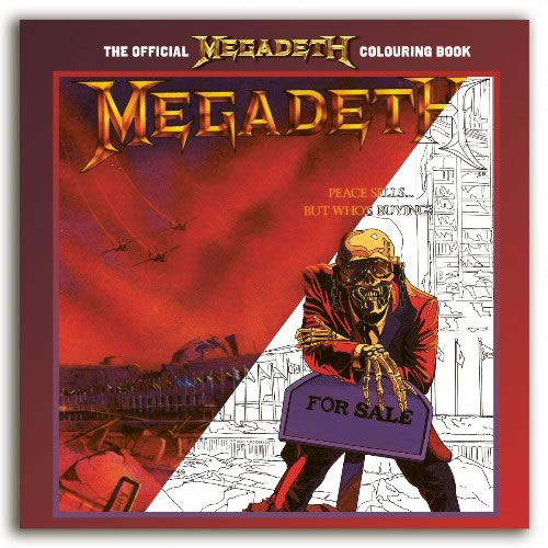 MEGADETH - The Official Colouring Book