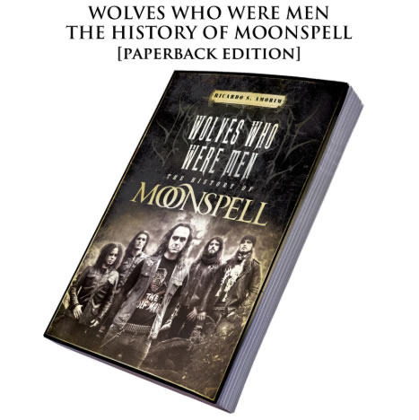 MOONSPELL - Wolves Who Were Men (Paperback)