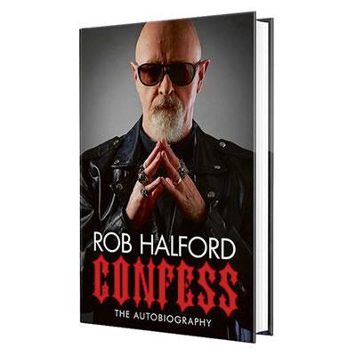 JUDAS PRIEST - Confess: The Autobiography