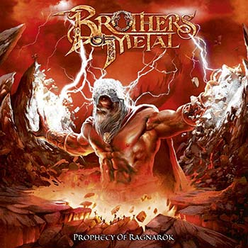 BROTHERS OF METAL - Prophecy of ragnarök