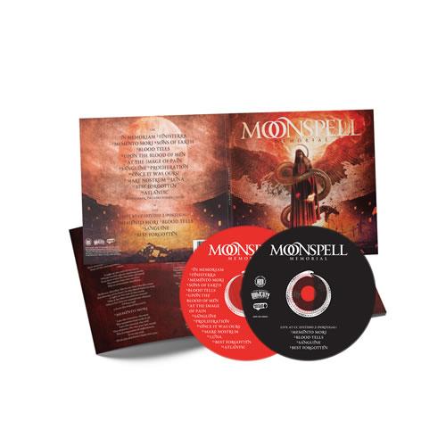 MOONSPELL - Memorial (2CD)