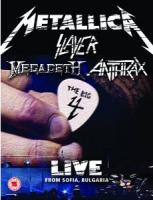 The Big Four: Live From Sonisphere (Metallica, Slayer, Anthrax, Megadeth)