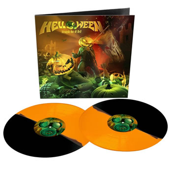 HELLOWEEN - Straight out of hell (Bi-Coloured)