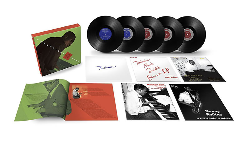 THELONIOUS MONK - The Complete Prestige 10 - Inch LP Collection