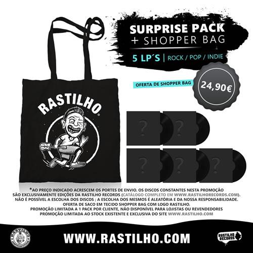PROMO - SURPRISE PACK - Surprise Pack - 5 LP´s (Rock / Pop /  Indie)