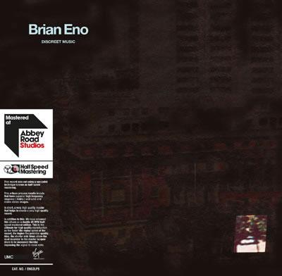 BRIAN ENO - Discreet Music (Limited Half-Speed Reissues)