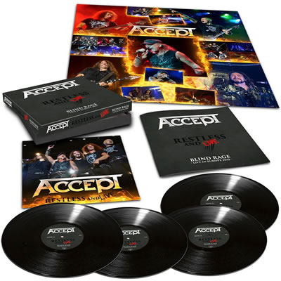 ACCEPT - Restless and live (4LP)
