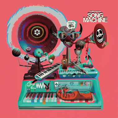 GORILLAZ - Gorillaz Presents: Song Machine
