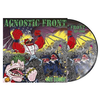 AGNOSTIC FRONT  - Get loud! (PD)