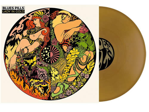 BLUES PILLS - Lady in gold (Gold Vinil)