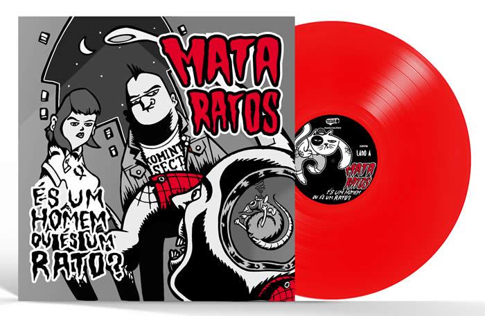 MATA RATOS - És um Homem ou És um Rato? (Red Vinyl)