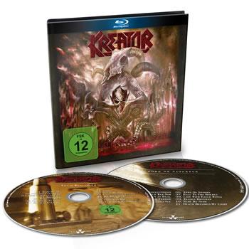 KREATOR - Gods of violence (CD+Blu Ray)