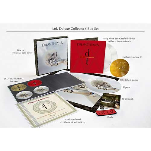 DREAM THEATER - Distance over time(Collectors Box)