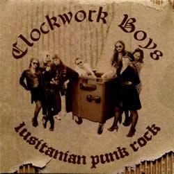 CLOCKWORK BOYS - Split (W/English Dogs)