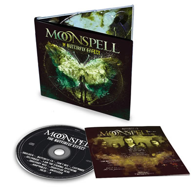 MOONSPELL - The Butterfly Effect (CD)