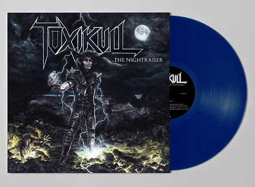 TOXIKULL - The Nightraiser (Blue)