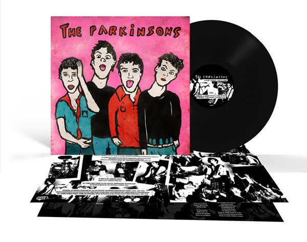 PARKINSONS (The) - A long way to nowhere + Streets of London (Black)