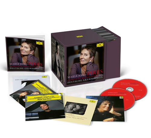 MARIA JOÃO PIRES - Complete Recordings On Deutsche Grammophon