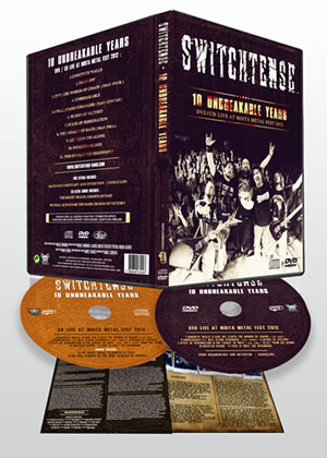 SWITCHTENSE - 10 Unbreakable Years - Live at Moita Metal Fest