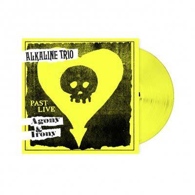 ALKALINE TRIO  - Agony & Irony: Past Live LP (Yellow)