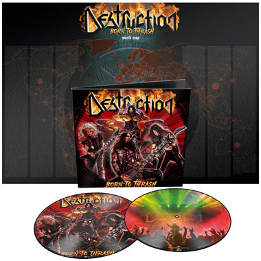 DESTRUCTION - Born to thrash (Live in Germany)