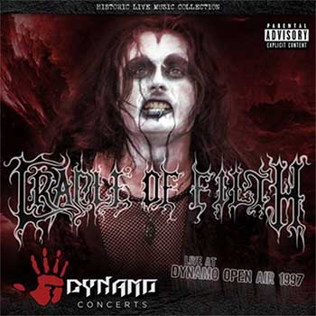 CRADLE OF FILTH - Live At Dynamo Open Air 1997