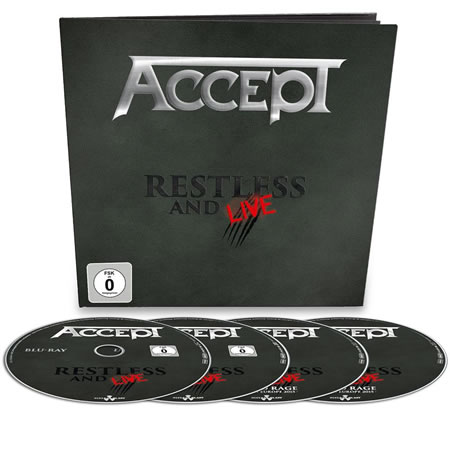 ACCEPT - Restless and live (Earbook)