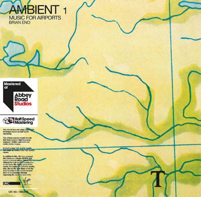 BRIAN ENO - Ambient 1: Music For Airports (Limited Half Speed Reissues)