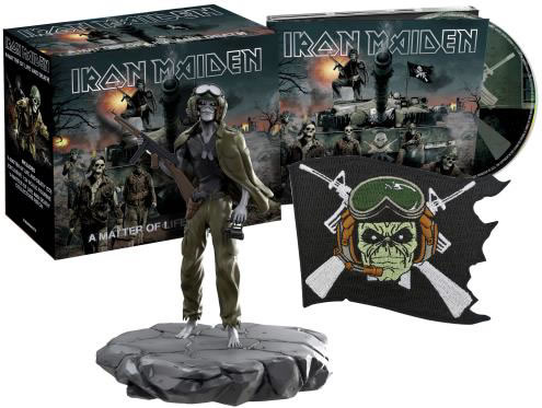 IRON MAIDEN - A matter of life and death (Collectors Edition)