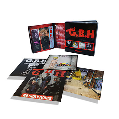 G.B.H. - 1981-84: 4CD Clamshell Box