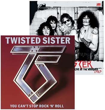 TWISTED SISTER - You Can't Stop Rock N Roll + Live