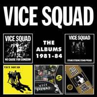 VICE SQUAD - The Albums 1981-84, 5CD Boxset