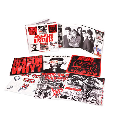 ANGELIC UPSTARTS - The Albums 1983-91, 6CD Clamshell