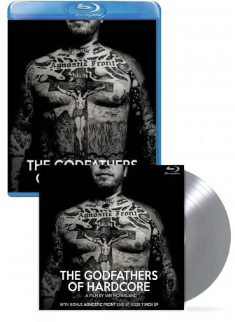 """AGNOSTIC FRONT  - The Godfathers of Hardcore (+7"""" S036 club)"""