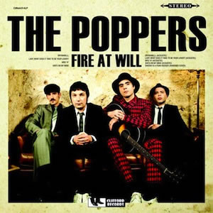 POPPERS (The) - Fire at Will