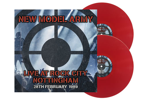 NEW MODEL ARMY - Live At Rock City Nottingham 1989