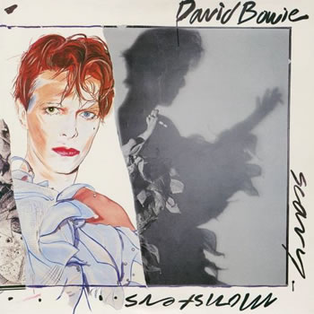 DAVID BOWIE - Scary Monsters and Super Creeps