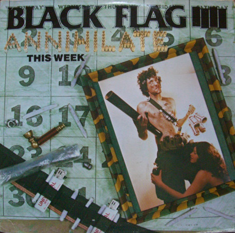 BLACK FLAG - Annihilate This Week