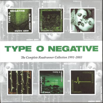 TYPE O NEGATIVE - The Complete Roadrunner Collection 1991-2003