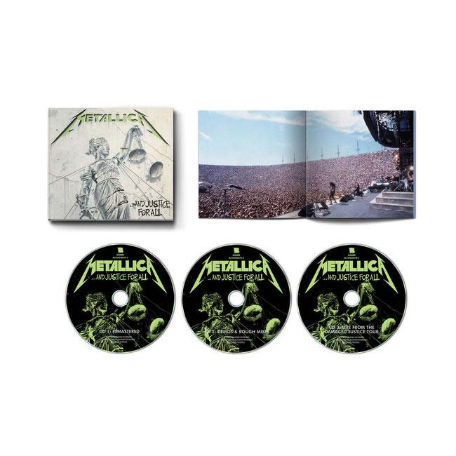 METALLICA - ...And Justice for all (Expanded 3CD)