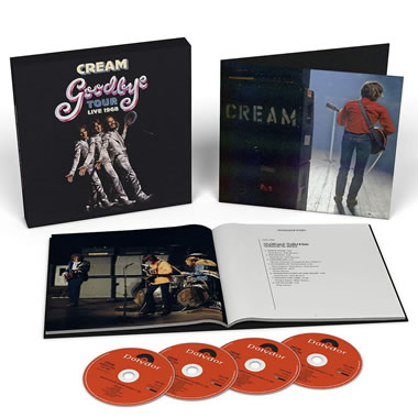 CREAM - Goodbye Tour: Live 1968