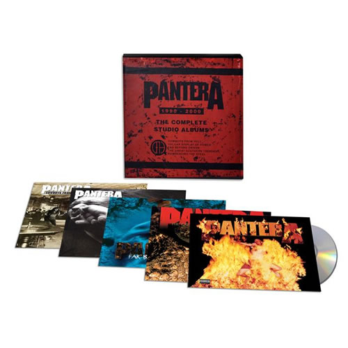 PANTERA - Complete studio albums 1990-2000 (5CD)