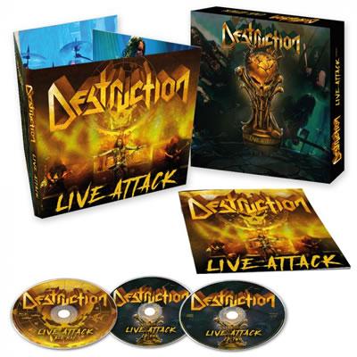 DESTRUCTION - Live Attack