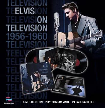 ELVIS PRESLEY - Elvis on television 1956-1960: the complete sound recordings