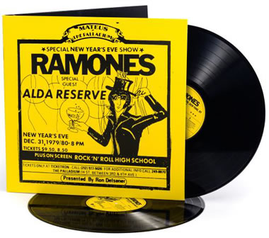 RAMONES (The) - Live At The Palladium, New York, NY (12/31/79)