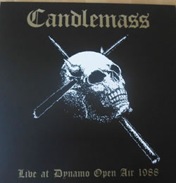 CANDLEMASS - Live At Dynamo Open Air 1988